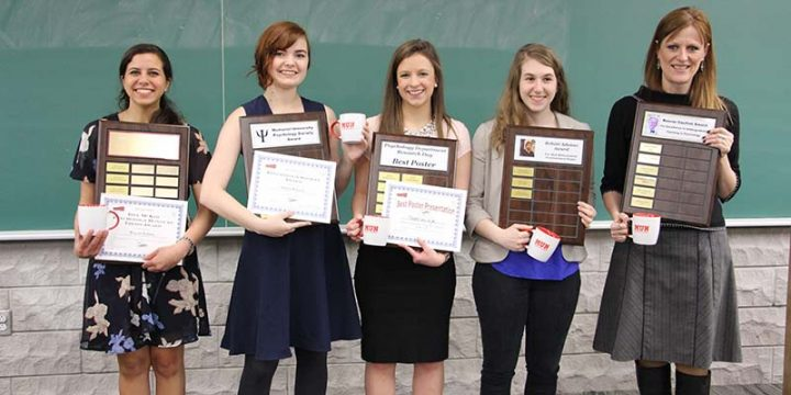 Psychology award winners