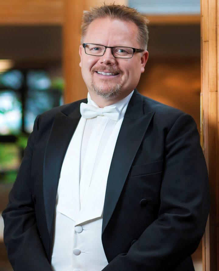 Dr. Jakub Martinic is director of choral studies at Memorial.