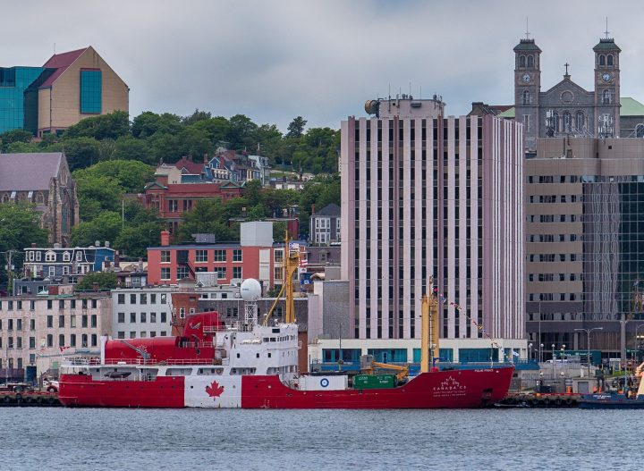 Polar Prince C3 photographed from south side of St. John's harbour