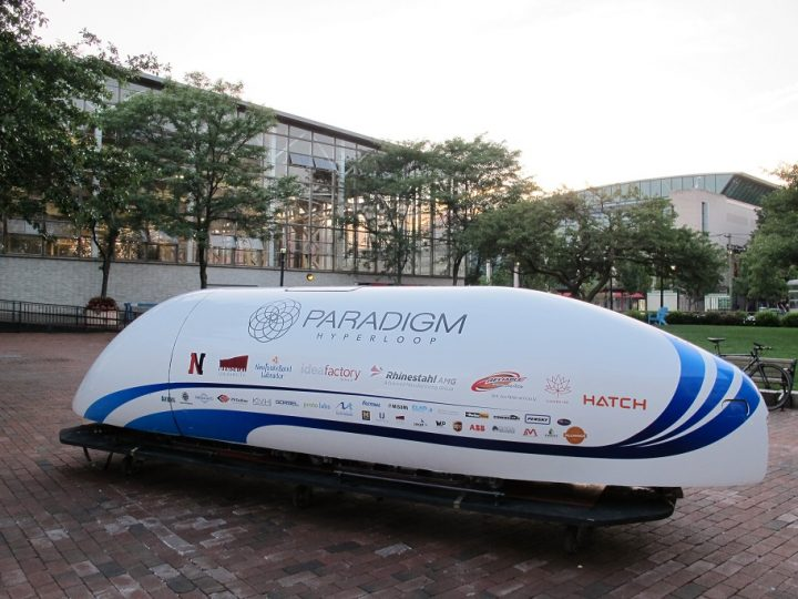 Hyperloop pod competition victor  hits a top speed of 200mph