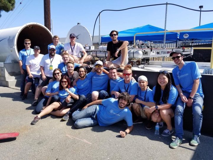 SpaceX's Hyperloop Pod speed competition in photos