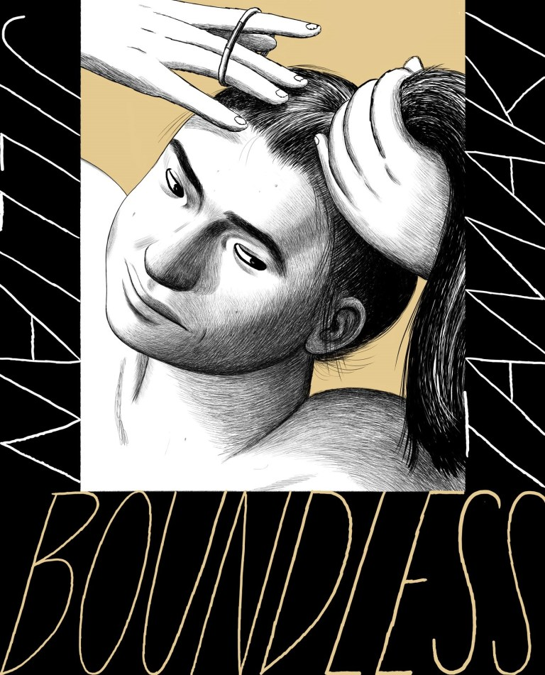 The cover of Boundless.