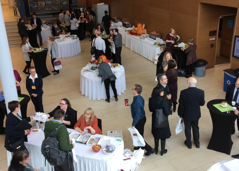 Research on the Rock attracted nearly 160 delegates from Atlantic Canada and beyond.