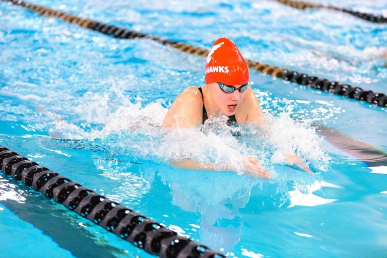 The breaststroke is one of Jasmine Foran's strongest events.