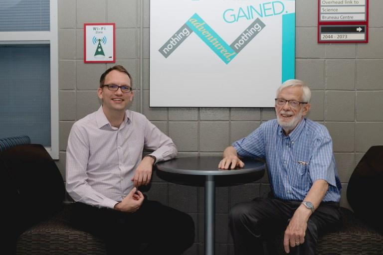 From left: Drs. Scott Matthews and John Molgaard.