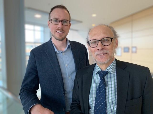 Greg Lukeman and Dr. Neil Bose