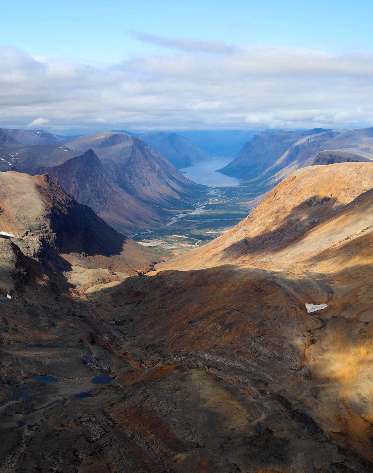 Torngat Mountains National Park in Labrador.