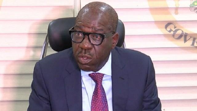Edo governor Godwin Obaseki
