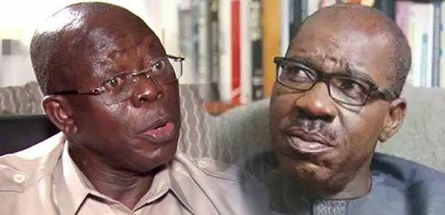 Oshiomhole begs Godwin Obaseki