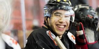 hockey sur glace - u 22 - les gothiques 0249 -amiens- leandre leber - gazettesports