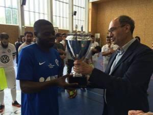 Les amiénois ont été titrés champions de Picardie. Photo : AMFC