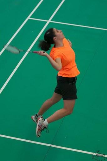 Dorine COCAGNE de la team AUC. Crédit photo : AUC Badminton