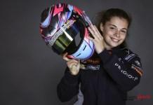 lilou wadoux, 16 ans, espoir des circuits !