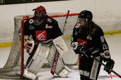 HOCKEY-SUR-GLACE - Gothiques Féminin vs Cergy - Gazette Sports - Coralie Sombret-25