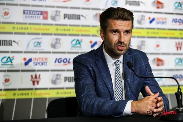"""AMIENS SC - Luka Elsner : """" Il ne faut pas se poser de question, il faut penser performance, match et résultat """" - GazetteSports"""