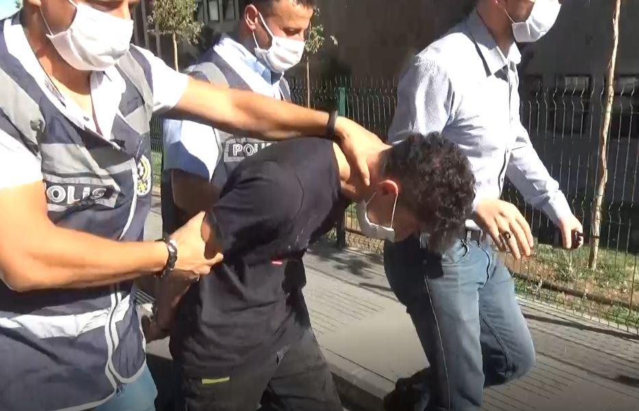 Genç kızın cinayet şüphelisi Gaziantep Adliyesinde