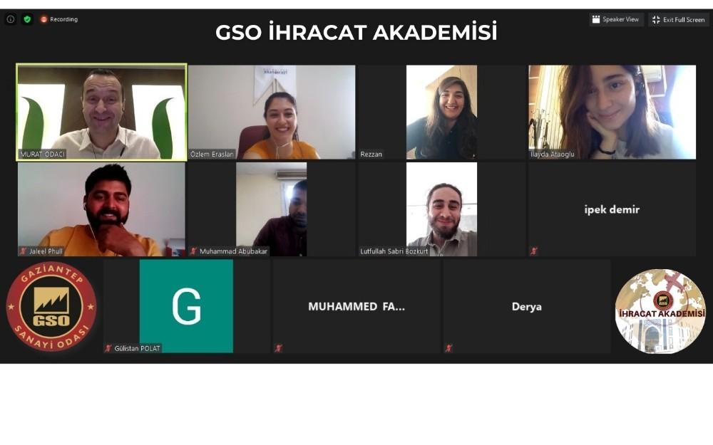 GSO İhracat akademisi projesi meyvelerini vermeye başladı