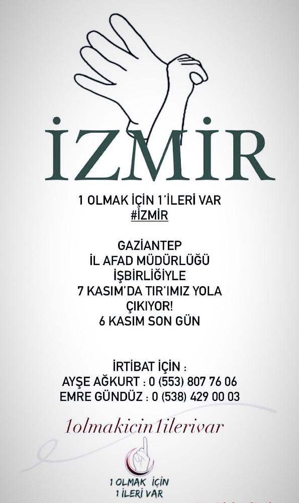 GAÜN öğrencileri depremin yaralarını sarmak için İzmir'e gidiyor