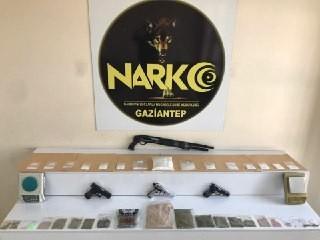 Gaziantep'teki uyuşturucu operasyonunda 32 gözaltı