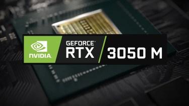 モバイル向けNVIDIA GeForce RTX 3050系のベンチマーク出現
