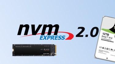 NVMe HDDが登場? NVMe 2.0が制定されHDDへも対応