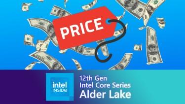 Alder Lake-Sの北米での販売価格情報が出現