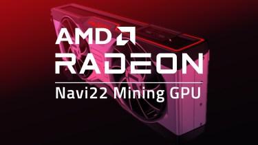 AMDからRadeon RX 6700ベースのマイニングGPUが近く登場?