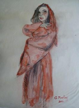 Leonora Fejzullahu Buçinca by Gazmend Freitag, 2015