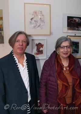 Gazmend Freitag, Ursula Pfeiffer. © Ron Böhme