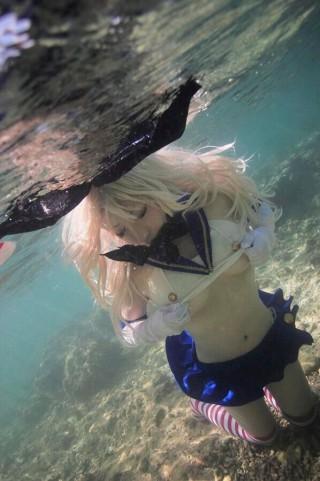 水中コスプレ-水下COS