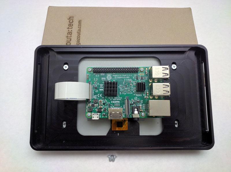 Raspberry Pi Touch Screen Wall Mount | Gazouta Technologies