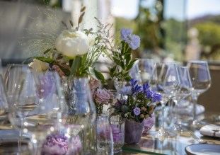Décoration florale tables