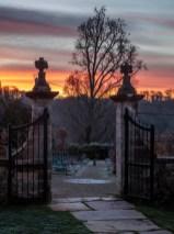L'aube à Gaztelur