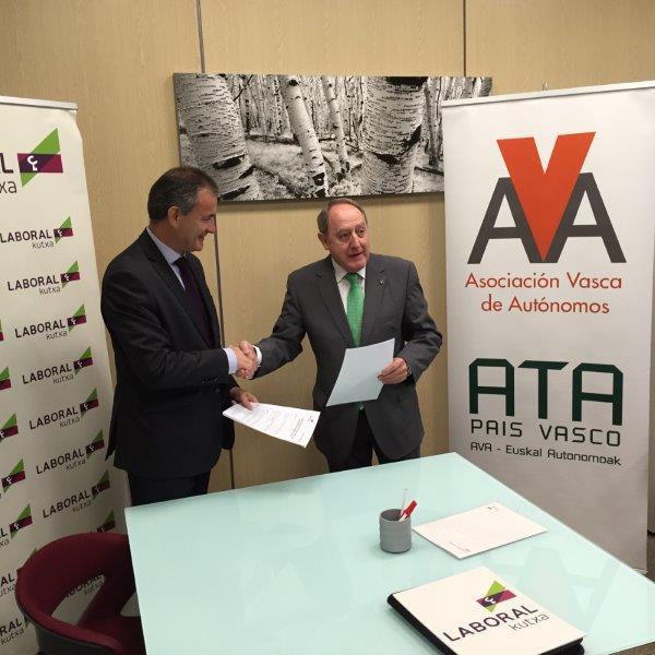 Laboral Kutxa y La Asociación Vasca de Autónomos AVA-ATA EUSKADI