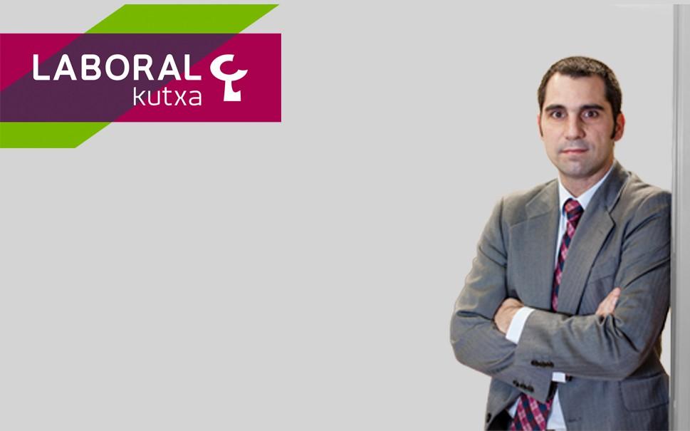 Borja Garate es el responsable de Desarrollo de Negocio de Laboral Kutxa