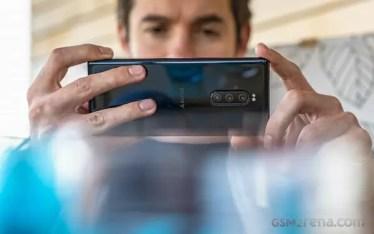 「歪み」は初期仕様に。「Xperia 1」の「カメラ」には「歪み補正機能」があるけど「画質」が落ちるみたい。