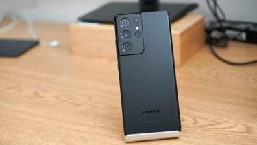 電池持ち改善。「Galaxy S21 Ultra」はより消費電力効率に優れたディスプレイを採用