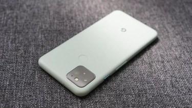 Google Pixel 5。今後数週間で終売になる可能性