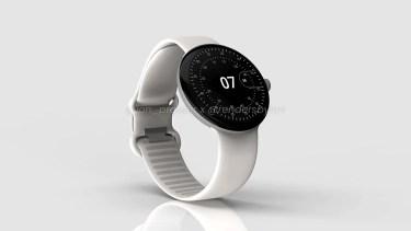 Google Pixel Watch。半導体不足の影響をもろに受けているかも