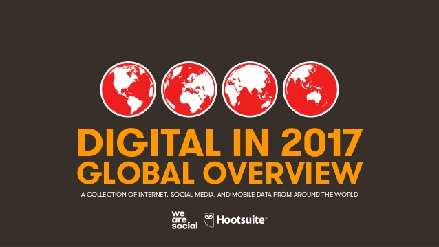 digital 2017 global overview