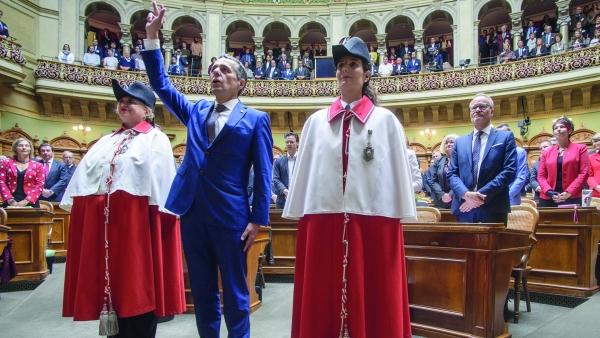 Con Ignazio Cassis torna in governo un rappresentante della Svizzera italiana