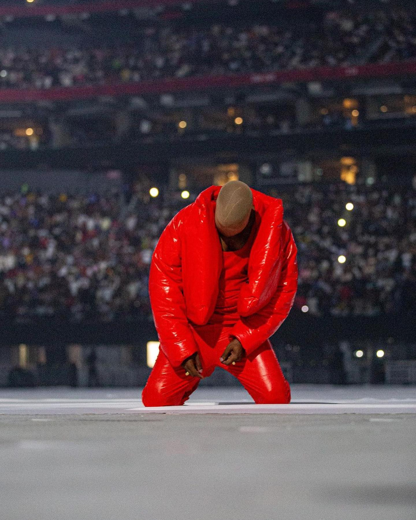 Kanye West in 2021