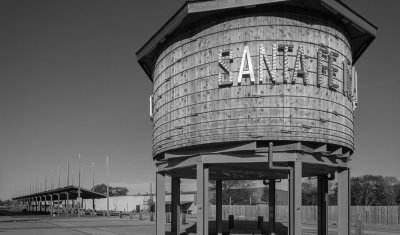 Santa Fe Railyard water tower