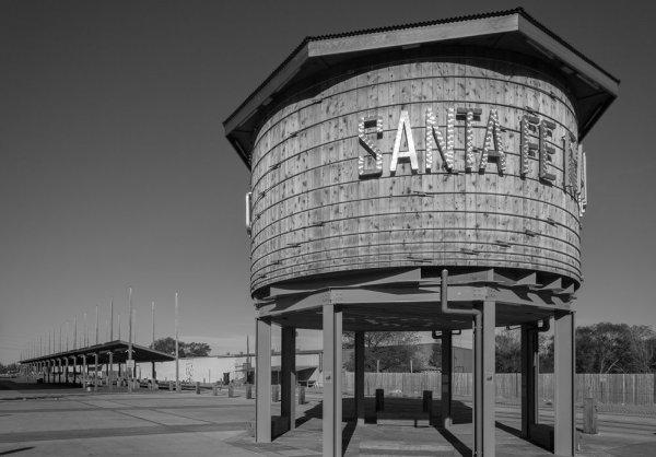 Santa Fe Railyard water tower