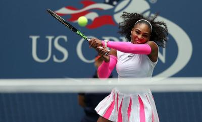 SERENA WILLIAMS BREAKS CAREER GRAND SLAM