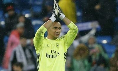 Real Madrid Quietly Doubles Keylor Navas Salary