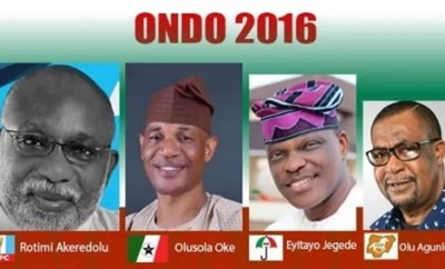 PDP Rejects Ondo Guber Election Result