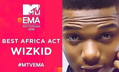 Wizkid Emerges Best African Act