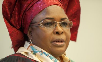 'Former First Lady, Patience Jonathan
