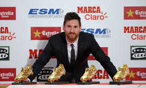 Lionel Messi wins his 4th European Golden Shoe award
